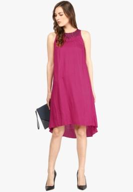 Shivani-26-Joy-Pink-Colored-Solid-Shift-Dress-2302-8060241-1-product2