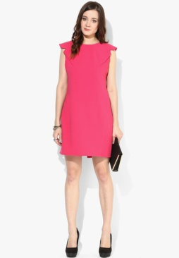 The-Selfies27-Store-Pink-Solid-Shift-Dress-5219-5521451-2-product2