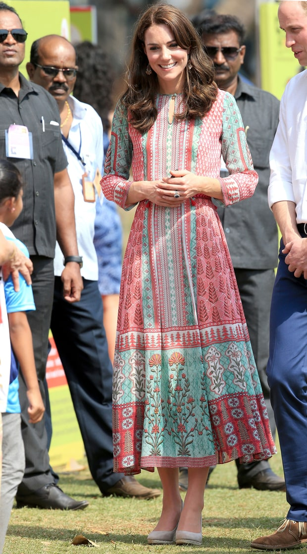 anita dongre for charity visit in mumbai