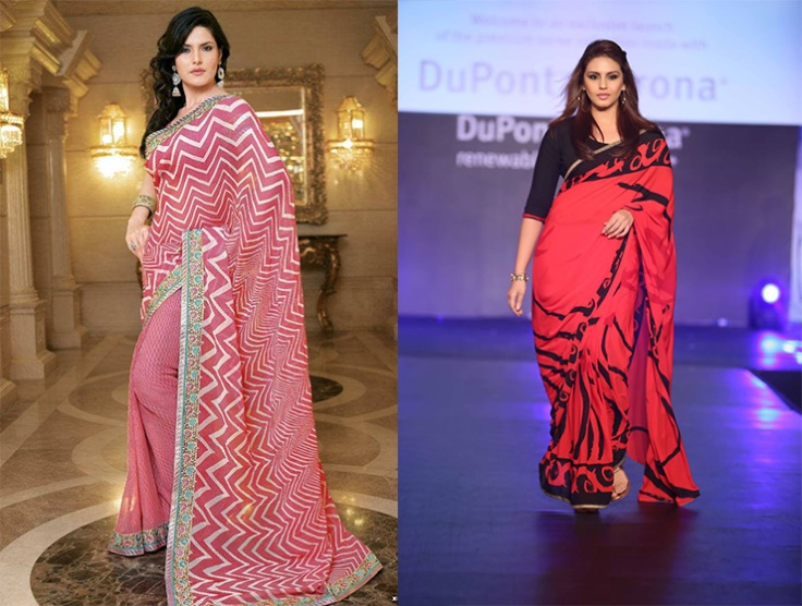 2ef1fad96a1 How to choose embroidered sarees for plus size
