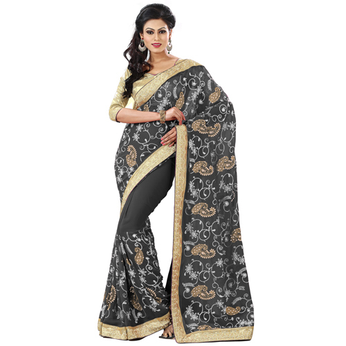 EMBROIDERED-SAREE-ALL-OVER-WORK-SAREE-BORERED-SAREE
