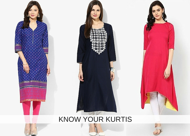 KNOW YOUR KURTIS
