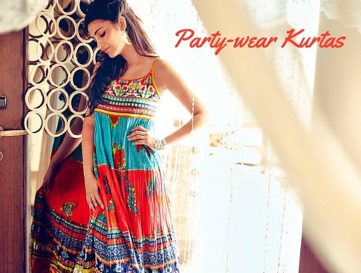 Party-wear Kurtas