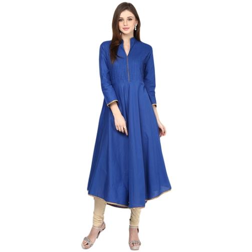 bhama-couture-blue-pintuck-anarkali-cotton-kurti-product