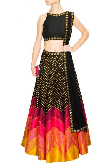 fabron-multi-color-designer-embroidred-lehenga-chol-product
