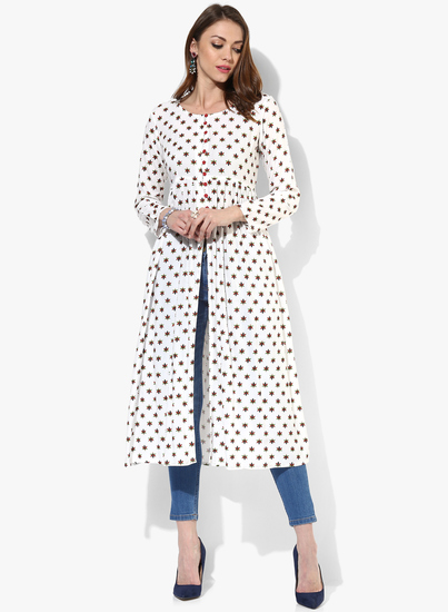 Sangria-3-4Th-Sleeves-Rayon-Kurta-With-Loop-Buttons-0119-8814181-1-product