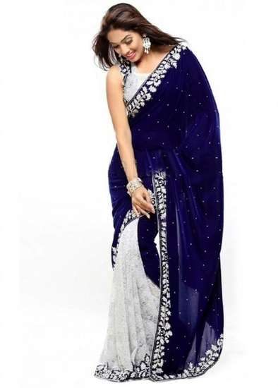 bhavna-creations-designer-blue-velvet-saree-with-wh-product