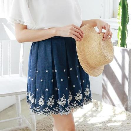 elastic-jacquard-embroidered-denim-skirt-1-product