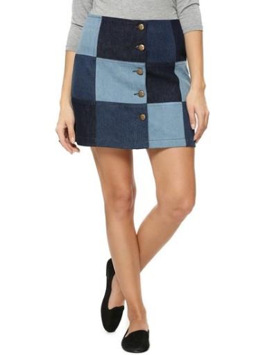koovs-patch-work-denim-mini-skirt-product
