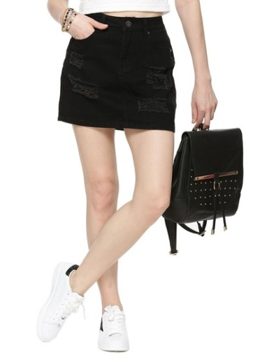 liquourn-poker-distressed-denim-skirt-product
