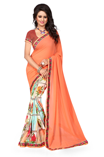 ravechi-feb-self-design-orange-georgette-saree-product