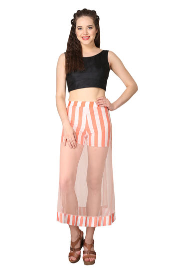 shararat-net-orange-straight-full-length-skirt-for--product