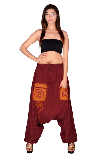 uttam-enterprises-cotton-plain-maroon-color-trouser-product