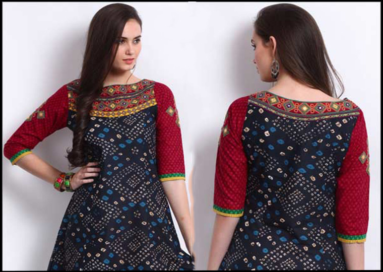 How to choose a Perfect kurti for Pear shape body? | Voonik's Blog!