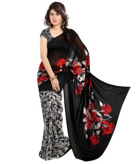 andy-inc-georgette-printed-black-color-casual-saree-product
