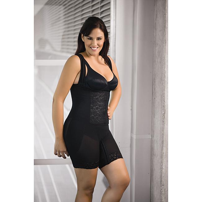 540a36bfa7c12 CoCoon-Womens-Plus-Size-Short-Wonder-Shaper-Bodysuit-