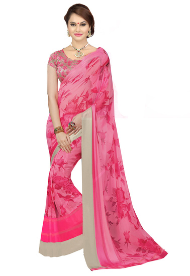 ishin-faux-georgette-pink-printed-womens-saree-14-product