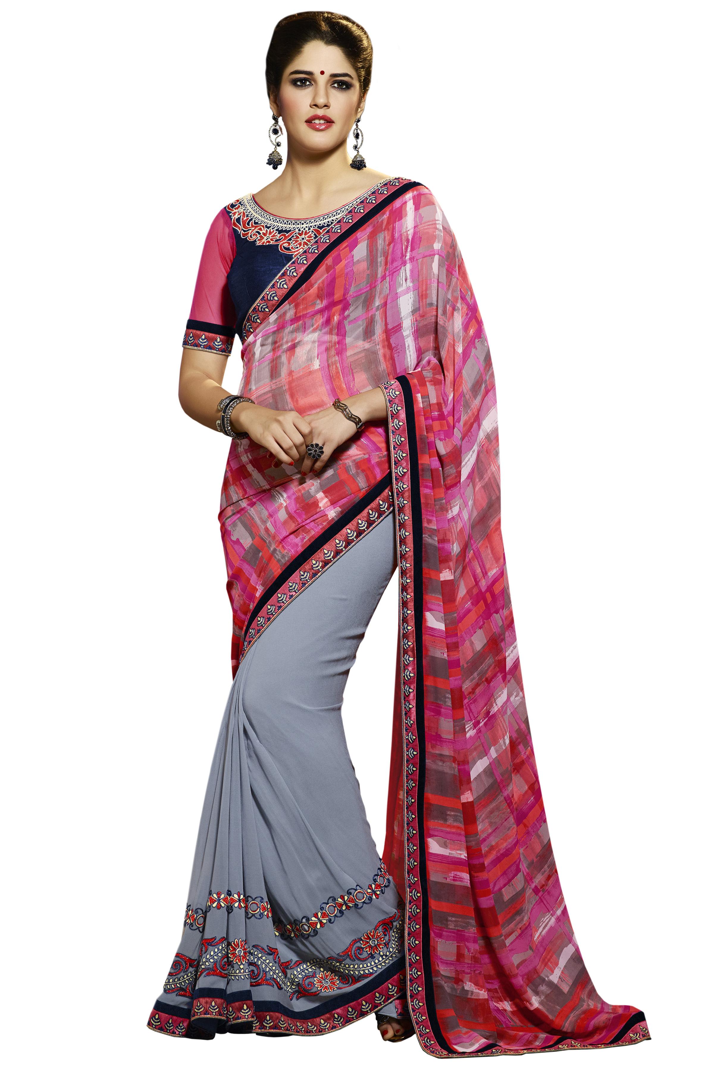 riva-grey-georgette-embroidered-saree-original
