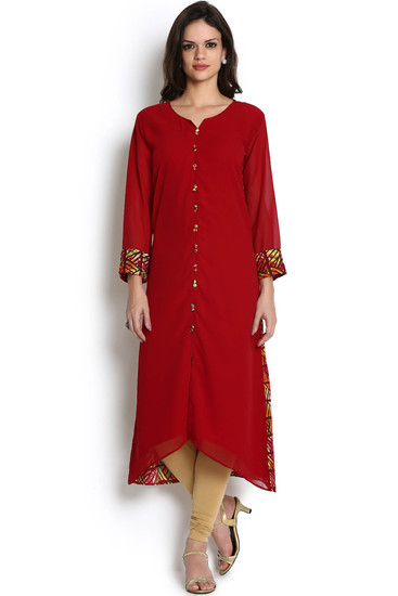 soch-maroon-and-multicoloured-printed-georgette-kur-product