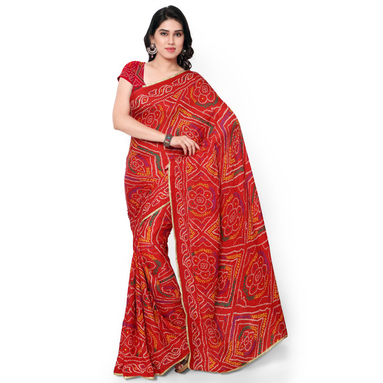 janasya-womens-red-crepe-bandhani-saree-4-product