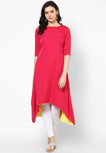 rashmi-exclusive-fancy-plain-cotton-kurti-product