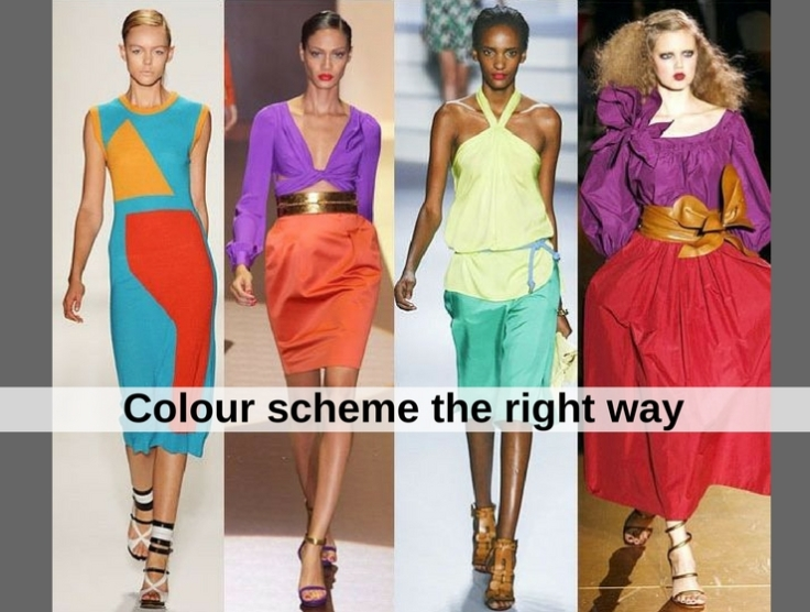 Colour scheme the right way